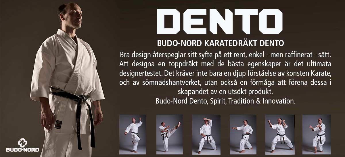 Budo-Nord karatedräkt DENTO