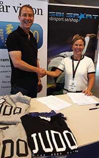 Sponsor av Svenska Judolandslaget