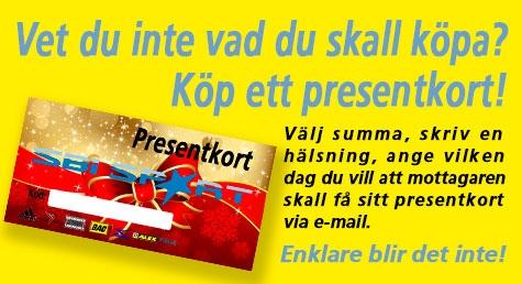 Köp ett presentkort