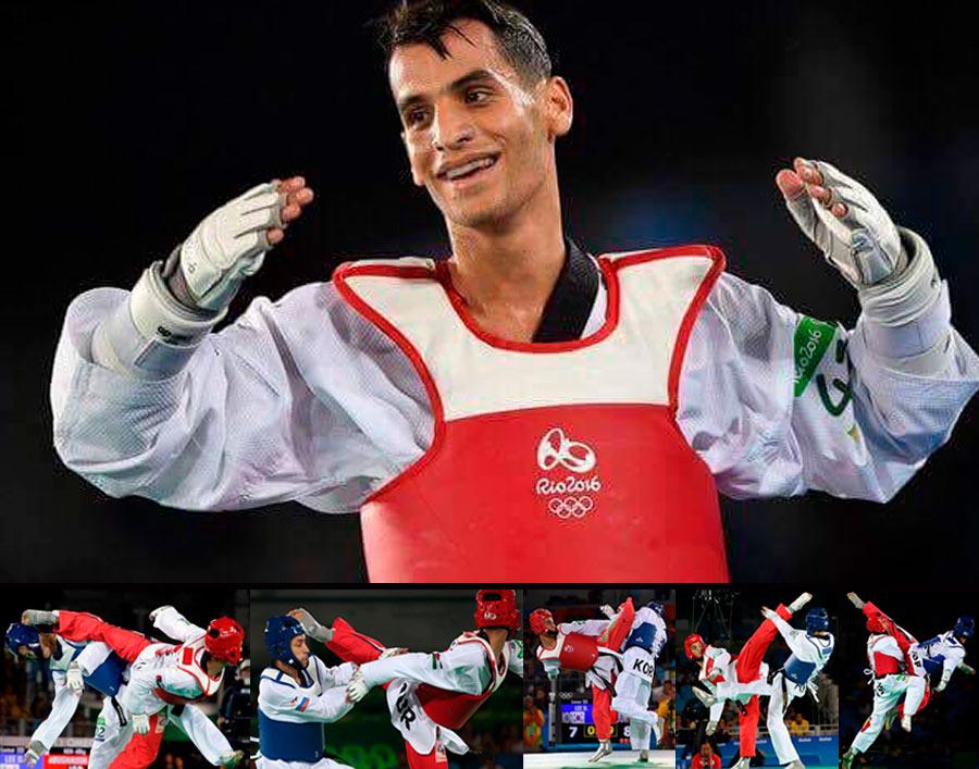 TAEKWONDO CAMP with Ahmad Abughaush, Jordan. Olympic Goldmedallist Rio!