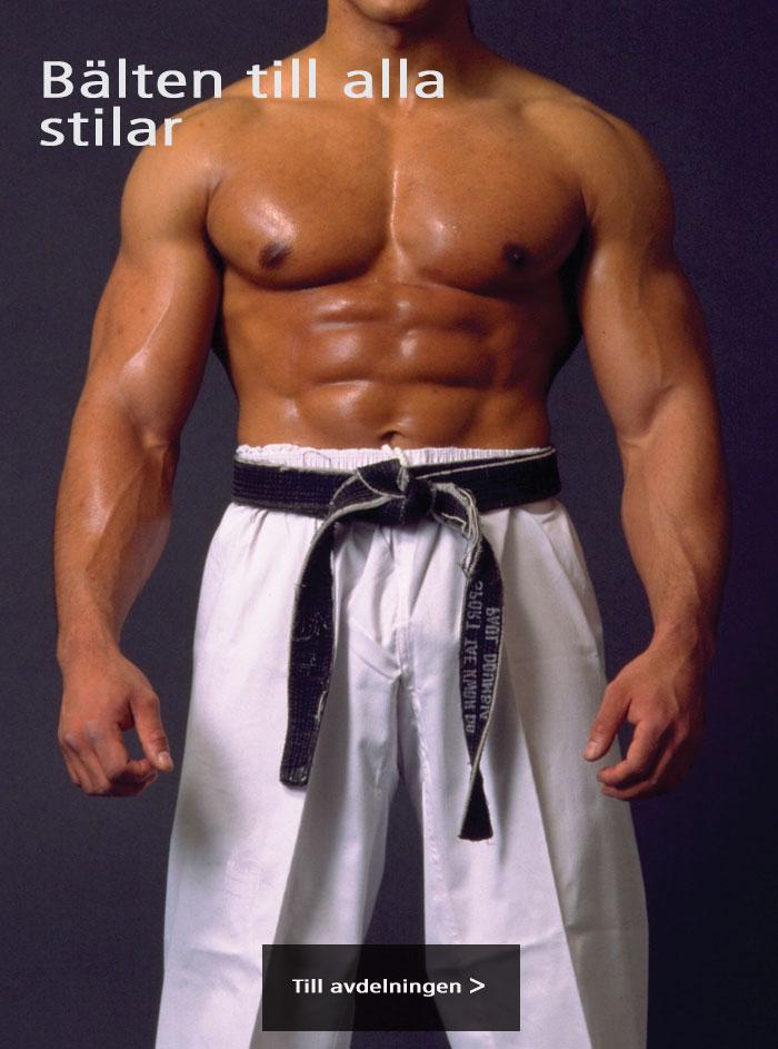 Bälte för all kampsport