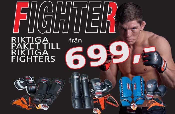 Riktiga paket till riktiga Fighters