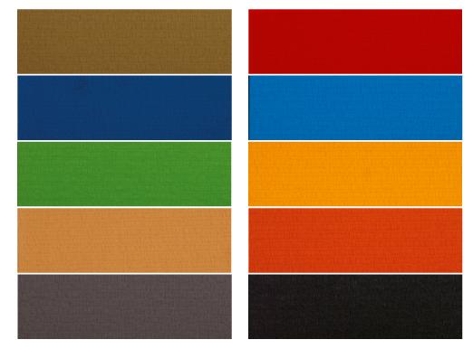 Budo-Nord Tatami färger
