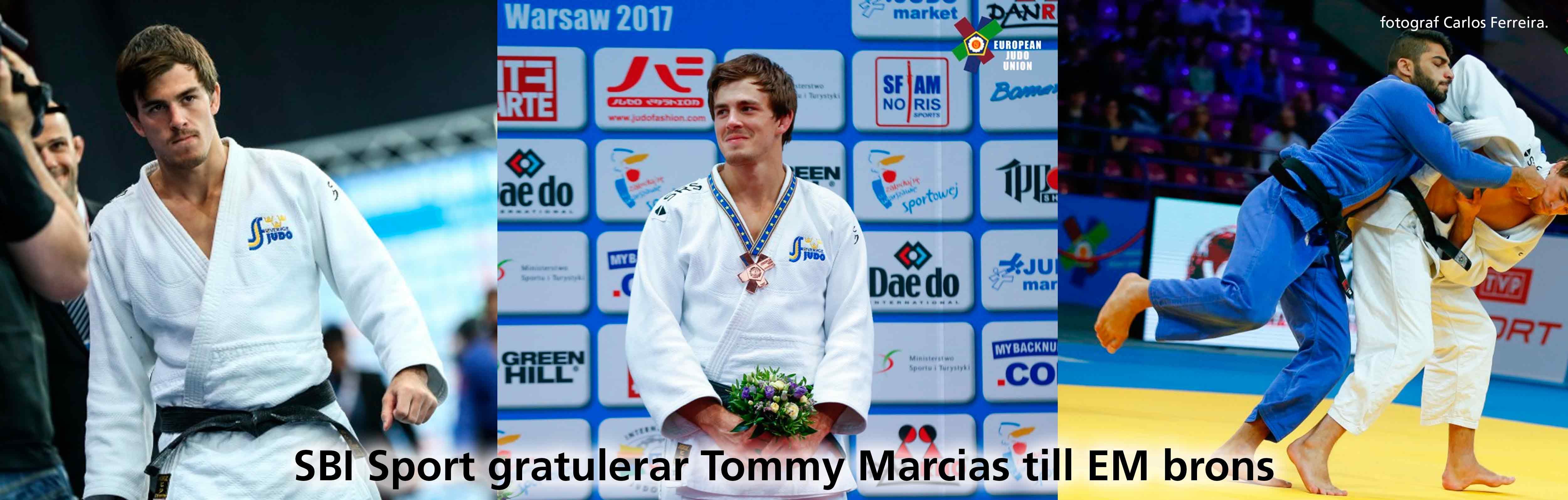 SBI gratulerar Tommy till EM brons
