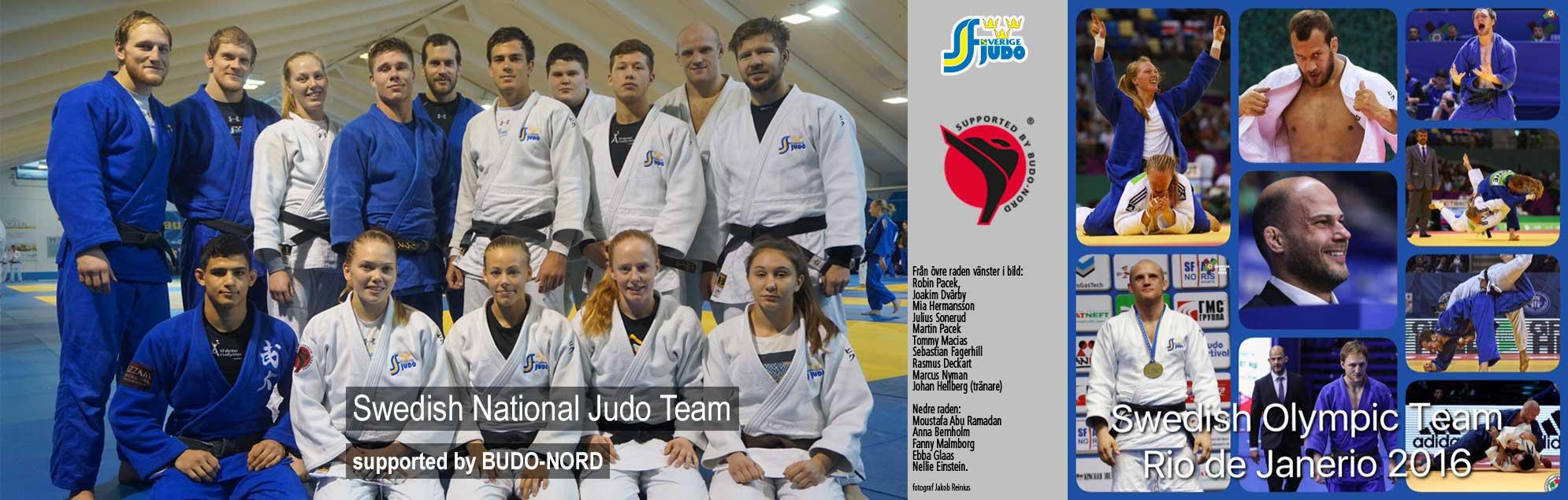 Budo-Nord Team Judo landslaget och OS team